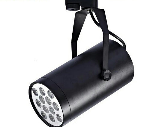 LED 12W Track Light in Black