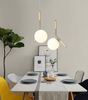 DOLCE Minimalist Hanging Lamp in Wood