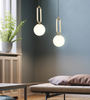 ENGILLA Oval Ring Pendant Light (Pre-order)