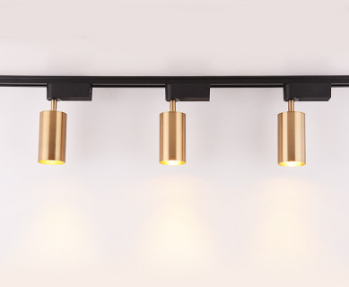 LED COB Lights in Gold