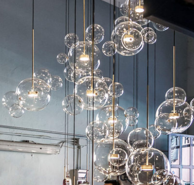 OCTAVE Spherical Pendant Light