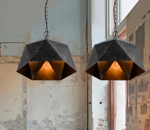 EQUIVA Industrial Edgy Pendant Lamp (Pre-order)