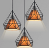 GIXY Geometric Pendant Light in Coffee