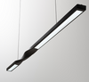 HELSKI Twisted Slim Case Pendant Light (90cm)