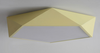 LEXA Geometric LED Ceiling Light in Pastel Colours with Safety Mark LED Driver (Pre-order)