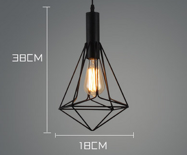 STRUCKTUR Geometric Caged Pendant Light (Pre-order)
