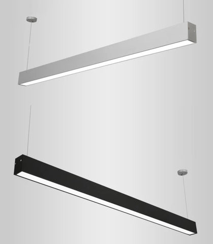 GJORD Linear Pendant Light in Black (120cm)
