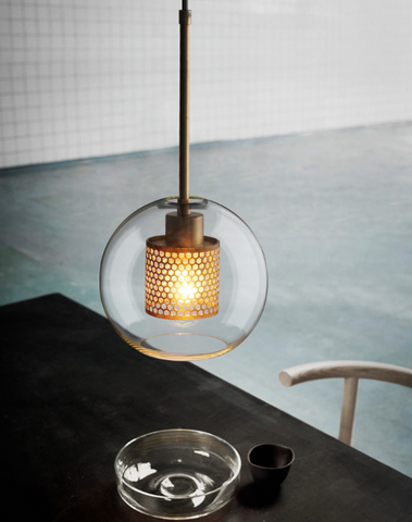 INCEPCION Glass Pendant Light (Dome-Shape)