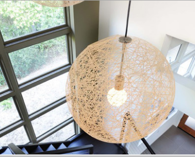 MARLOW Weaved Ball Pendant Light (Pre-order)