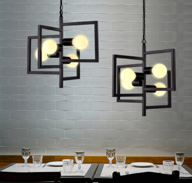 MAXTER Square Frame Pendant Light