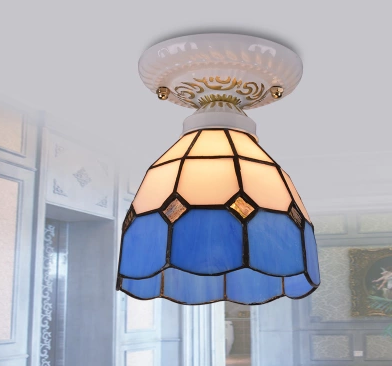 stained glass ceiling light. MERETER Stained Glass Ceiling Light (Pre-order)