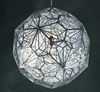 OPULENCE Pendant Light in Silver (25cm)