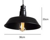 PORTSDOWN Pendant Light in Black & White