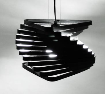 PALEN Spiral Pendant Light