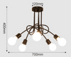 TEXENA Spider Twisted Ceiling Lamp (Pre-order)