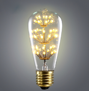 VELURE Edison LED Light Bulb