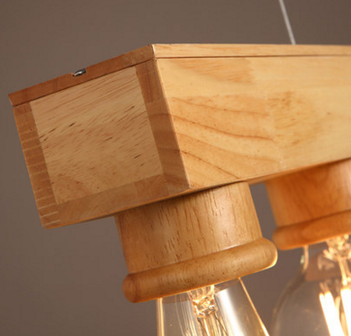 ACADIA Wooden Pendant Light