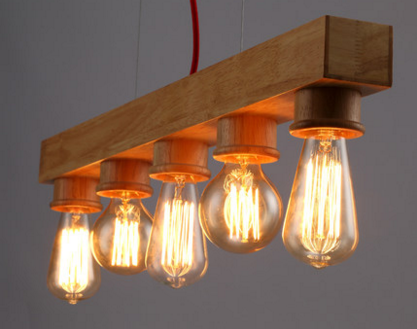 ACADIA Wooden Pendant Light ...