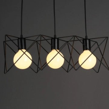 Trio of ZIG ZAG Pendant Light