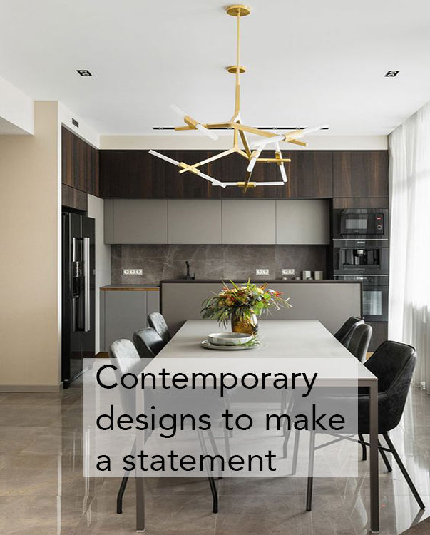 Shop our contemporary lighting designs