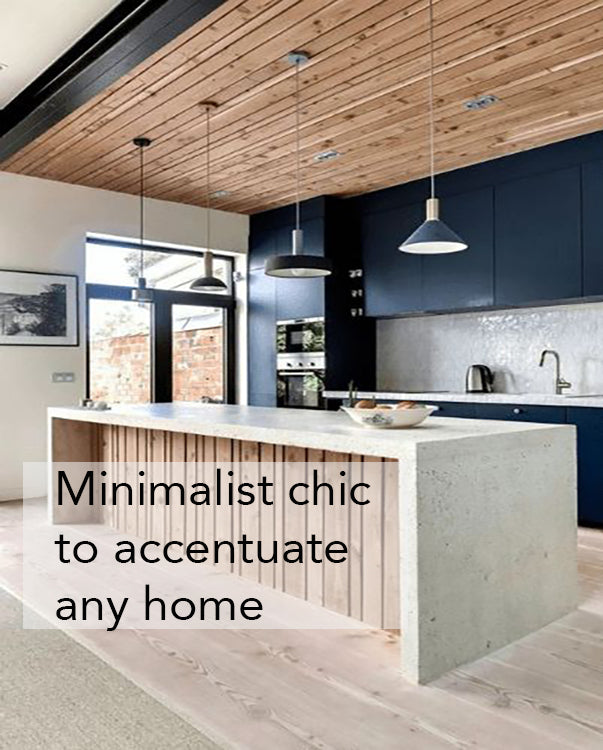 Shop our minimalist lighting designs