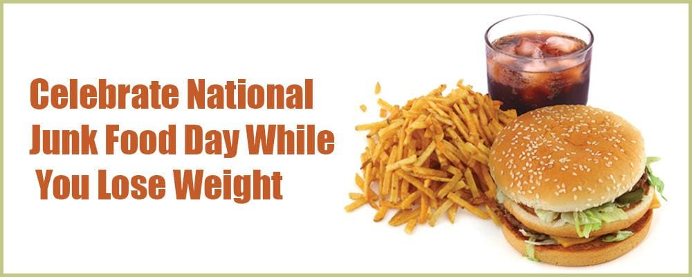 Celebrate National Junk Food Day While You Lose Weight
