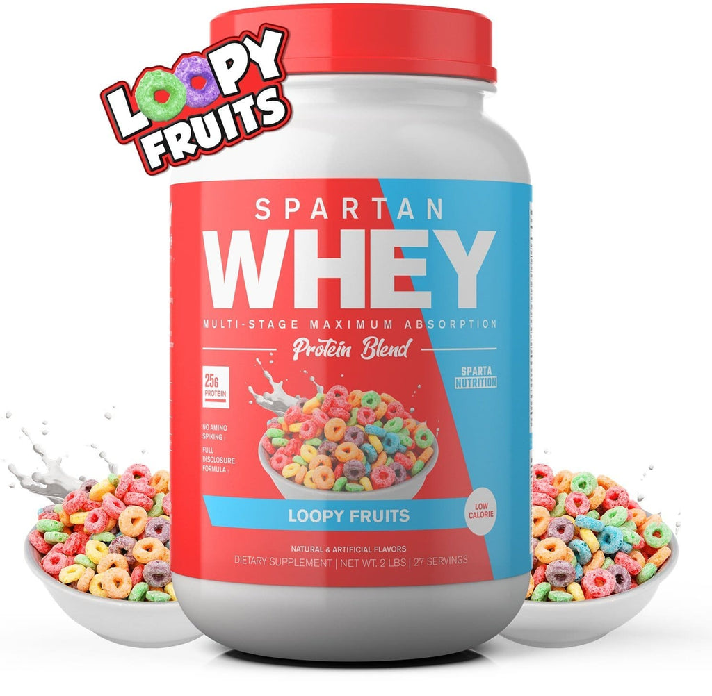 Crazy Good Protein: Loopy Fruits Whey Protein Blend