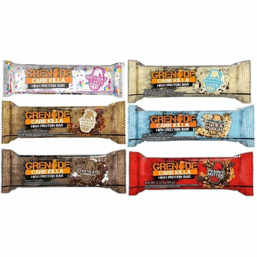 Crush Your Diet with Grenade Carb Killa Protein Bars