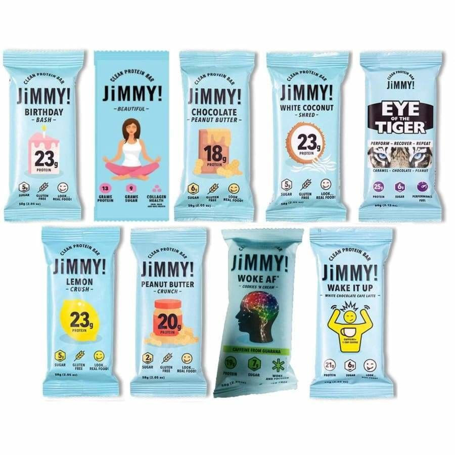Eat Clean with JiMMY! Bars