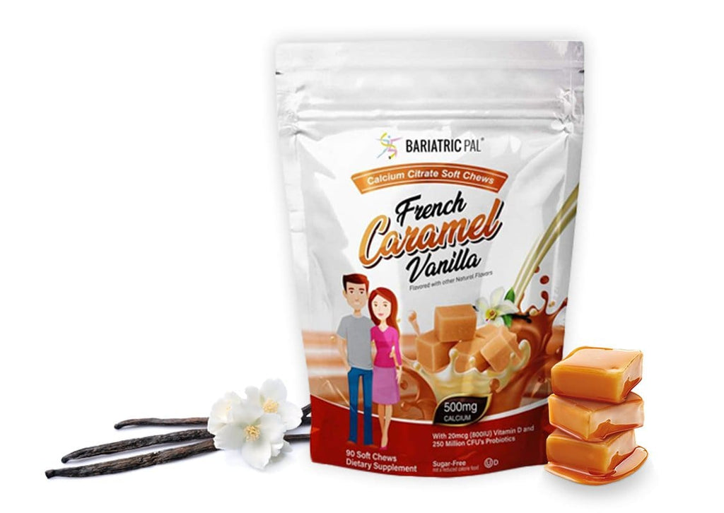 French Vanilla Caramel Calcium Chews