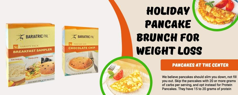 Holiday Pancake Brunch for Weight Loss