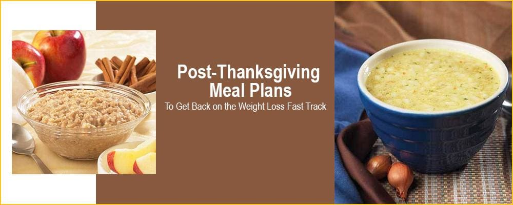 Post-Thanksgiving Meal Plans to Get Back on the Weight Loss Fast Track