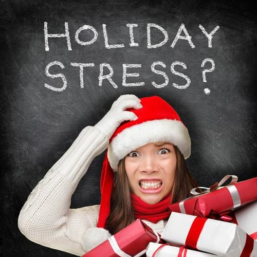 Time-Out from Holiday Stress, Weight Loss Included