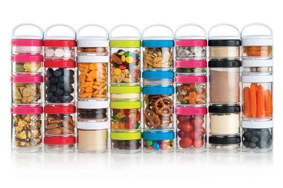 Travel and Eat Smart with Easy Stacking Jars