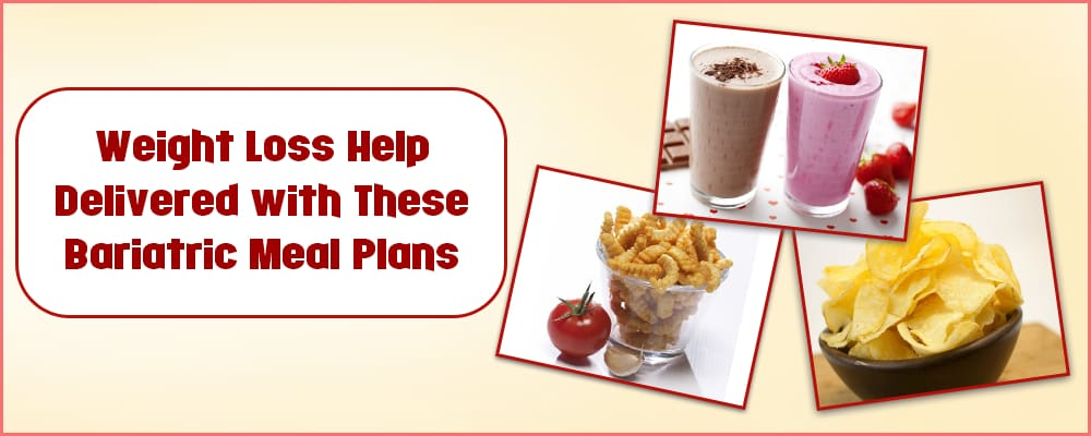 Weight Loss Help Delivered with These Bariatric Meal Plans
