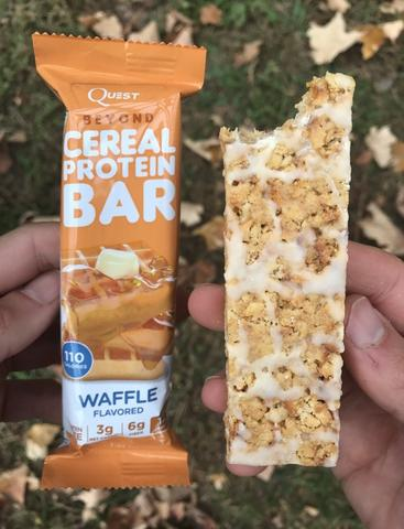 Waffle Quest Cereal Protein Bar