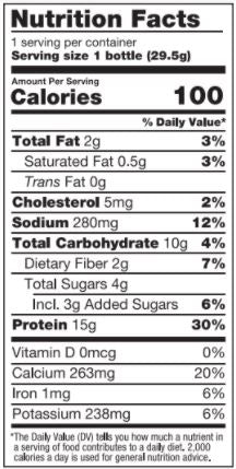 BariatricPal 15g Protein Shake Mix in a Bottle - Chocolate Coconut