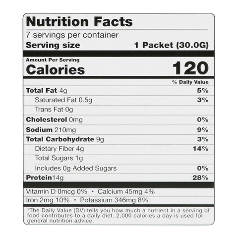 BariatricPal High Protein Cereal - Chocolate Peanut Butter Nutrition Facts