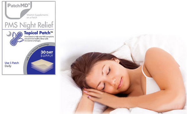 PMS Night Relief Topical Patch (30-Day Supply) by PatchMD