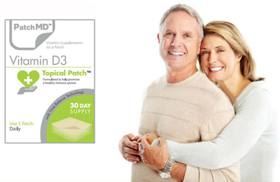 Vitamin D3 Topical Patch (30-Day Supply) by PatchMD