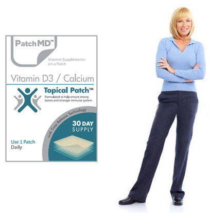 Vitamin D3/Calcium Patch (30-Day Supply) by PatchMD