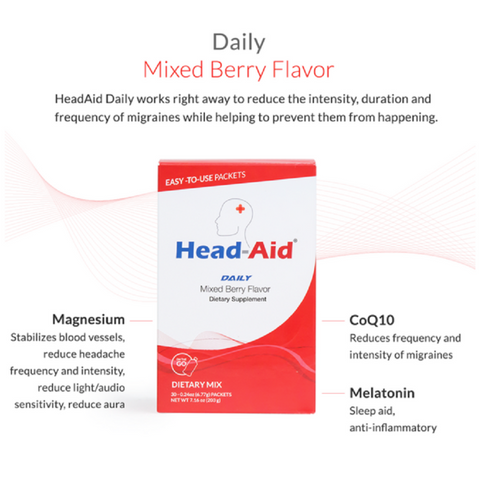 Head-Aid Daily (Preventative) - Mixed Berry
