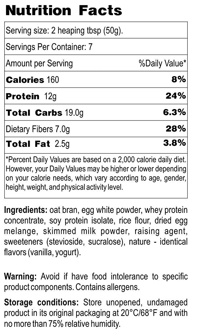 Newa Nutrition Low-Carb Sugar-Free Protein Waffle Mix