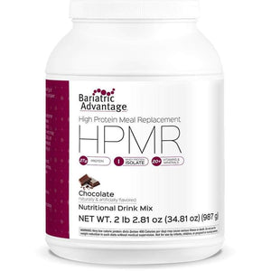 Bariatric Advantage HPMR High Protein Meal Replacement - Available in 8 Flavors! - 21 servings / Chocolate - Meal Replacements