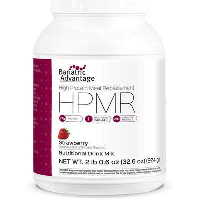 Bariatric Advantage HPMR High Protein Meal Replacement - Available in 8 Flavors! - 21 servings / Strawberry - Meal Replacements