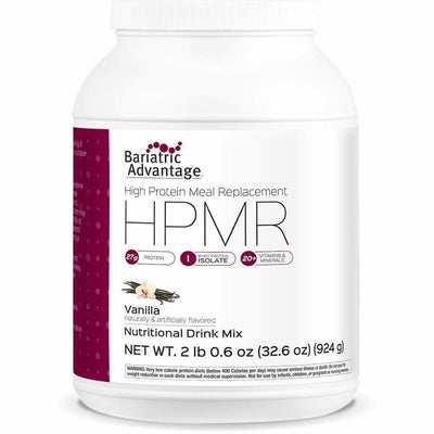 Bariatric Advantage HPMR High Protein Meal Replacement - Available in 8 Flavors! - 21 servings / Vanilla - Meal Replacements