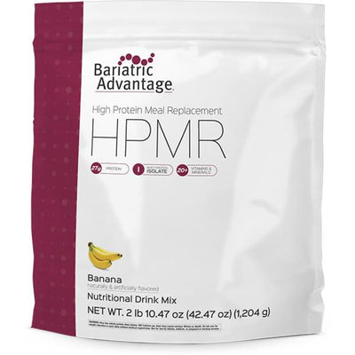 Bariatric Advantage HPMR High Protein Meal Replacement - Available in 8 Flavors! - 28 servings / Banana - Meal Replacements