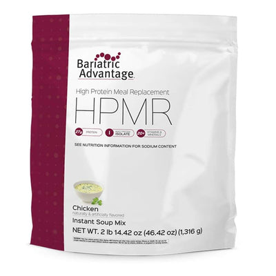 Bariatric Advantage HPMR High Protein Meal Replacement - Available in 8 Flavors! - 28 servings / Chicken - Meal Replacements