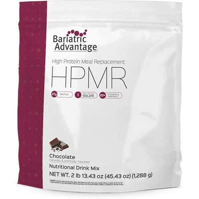 Bariatric Advantage HPMR High Protein Meal Replacement - Available in 8 Flavors! - 28 servings / Chocolate - Meal Replacements