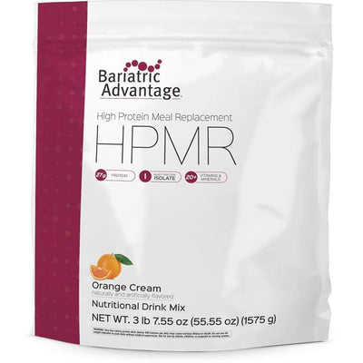 Bariatric Advantage HPMR High Protein Meal Replacement - Available in 8 Flavors! - 35 servings / Orange Cream - Meal Replacements